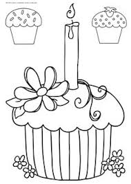 Small Picture Cute Cupcake Coloring Pages Story Time Crafts Pinterest