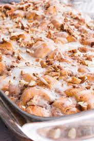 easy cinnamon roll cerole mighty
