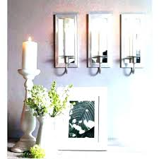 pillar candle wall sconces hanging hurricane glass