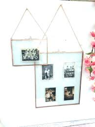double sided frame picture two glass 8x10