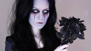stunning ghost makeup
