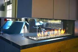 glass for gas fireplace clean