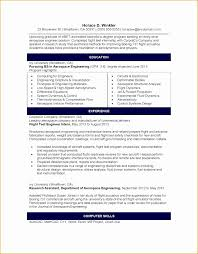 Boeing Aerospace Engineer Sample Resume