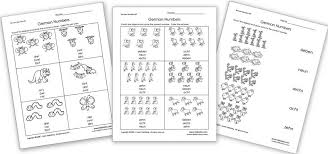 Free German Worksheets for Kids - Homeschool Den