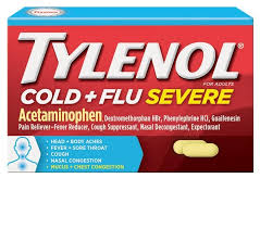 Tylenol Cold And Flu Severe Dosage Chart Tylenol Cold Flu Severe Caplets Tylenol