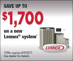 lennox home comfort system. lennox spring rebate home comfort system