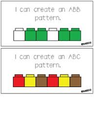 Abc Pattern Amazing Pattern Cards ABABCABBCAABABBAABBABCD Math Pinterest