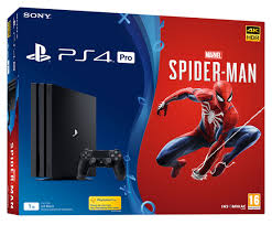 preorder ps4 pro 1tb marvel s spider man console