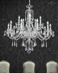 chandeliers olympia 104 ch 10 5 chrome crystal chandelier