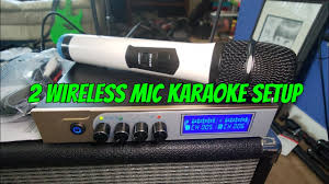 How to setup <b>Wireless Microphone</b> Mixer to Amp without Feedback ...