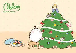 Christmas Desktop Wallpaper Kawaii