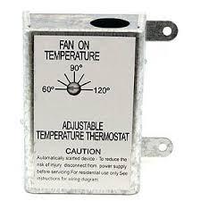 nutone rfth95 attic ventilator replacement thermostat, automatic Attic Fan Thermostat Wiring Diagram nutone rfth95 attic ventilator replacement thermostat, automatic wiring diagram for attic fan thermostat