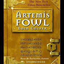 artemis fowl audiobook cover art
