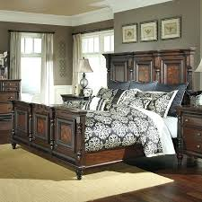 Mansion Bedroom Set Antique Toffee Upholstered Mansion Bedroom Set ...
