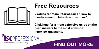 Interview Question Examples Common Interview Questions And Example Answers For Uk Interviews