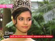 24 Oras: How has criticism affected Bb Pilipinas Janina San Miguel? - chikamin_031208_jan