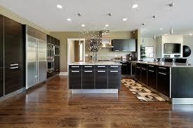 dark wood floor kitchen. Modern Wood Floors In Kitchen Floor With Dark Cabinets