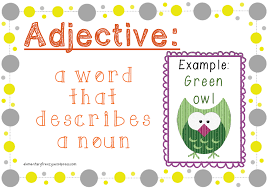 Adjective A Journey Through Literacy