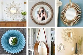 Diy mirror decor Wall View In Gallery Diy Mirror Decor Ideas Wonderful Diy Diy Mirror Décor Ideas That Will Blow Your Mind