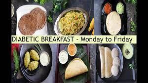 indian breakfast for diabetics