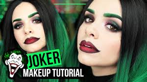 the joker inspired makeup tutorial female joker alycia marie you
