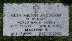 Marlene Bernice Wolf Anderson (1930-2002) - Find A Grave Memorial