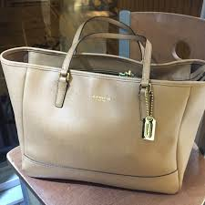 Coach large city tote