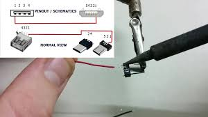 picture of wires and soldering
