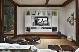 Effigy Of Flat Screen Tv Wall Cabinets Offering Space Saving