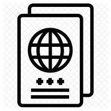Of Png Style Available Svg Eps Line Passport Ai - Fonts amp; Icon In