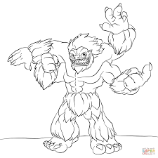 Small Picture Skylanders Slam Bam coloring page Free Printable Coloring Pages
