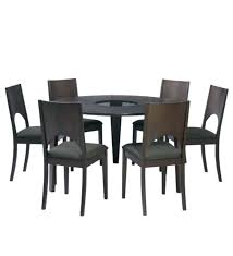 6 round glass dining table for chair set sets chairs new k