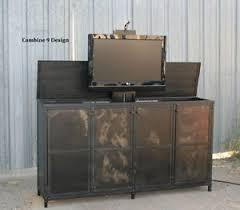 industrial tv cabinet. Interesting Industrial Image Is Loading TVLiftCabinetVintageIndustrialStyleModernUrban Inside Industrial Tv Cabinet A