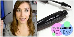 60 second review make up for ever smoky extravagant mascara bailey b