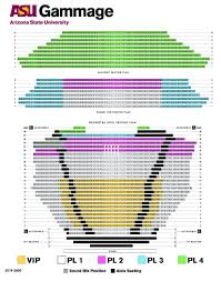 Lion King Theatre Seating Chart 19 20 Broadway Seating Chart Asu Gammage