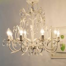 country style vintage white crystal rococo palais tree branch regarding amazing property vintage white chandelier designs