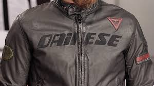 dainese archivio leather jacket review at revzilla com you
