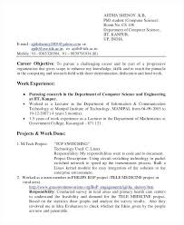 Internship Resume Samples For Computer Science Best Of Internship Resume Samples For Computer Science 24 Internship Resume