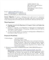 Internship Resume Samples For Computer Science Best of Internship Resume Samples For Computer Science 24 Internship Resume