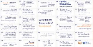 27 Quick Tips For Creating The Ultimate Business Card 123print Uk Blog