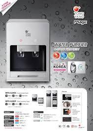 Water Filtration Dispenser Yang Wpu6200c Korea Hot And Cold Water Dispenser Filter