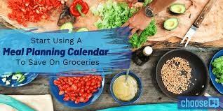 Group Planning Calendar Start Using A Meal Planning Calendar To Save On Groceries