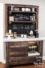 coffee bar. DIY Coffee Bar T