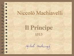 Niccolò Machiavelli Il Principe ppt scaricare