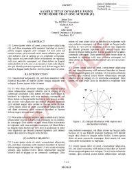 Aieee Format Paper Presentation Format Gim 12th International