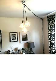 plug in swag lamp contemporary pendant lighting fixtures chandeliers that plug in medium size of swag plug in swag