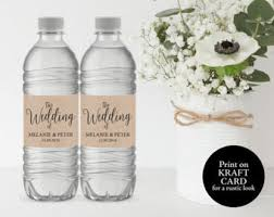 wedding bottle label wedding water bottle label water bottle label printable