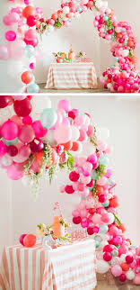 ... thehousethatlarsbuilt Make a Balloon Arch | Click Pic for 35 DIY Baby  Shower Ideas for Girls|