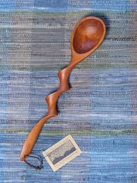carved cherry spoons carved wood spoons award winning spoons handmade spoon hand
