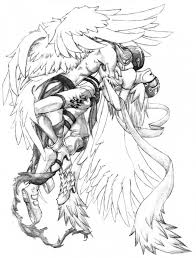 Small Picture Get This Angel Fantasy Coloring Pages for Adults 6543CV